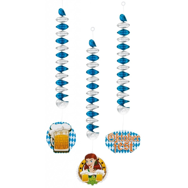 Beer Festival Decoration (Light Blue & White)
