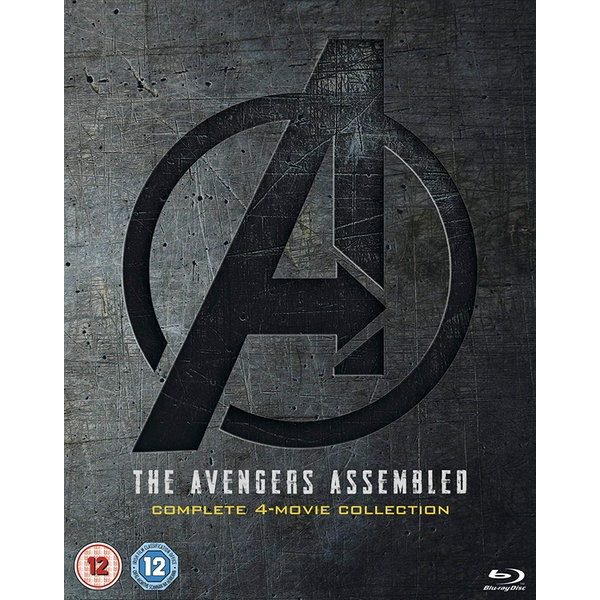 Avengers: 1-4 Complete Collection Blu-ray