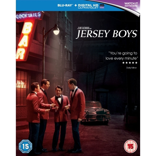Jersey Boys Blu-ray   UV Copy