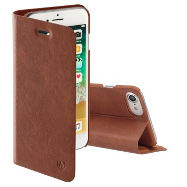 Hama Guard Pro Wallet Case for Apple iPhone 7/8 Brown