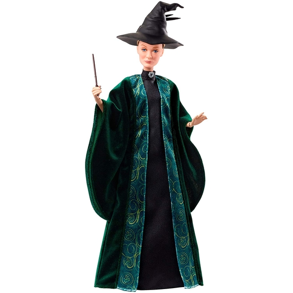 Harry Potter Chamber of Secrets Professor McGonagall Doll - Image 1