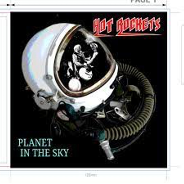 Hot Rockets - Planet in the Sky CD
