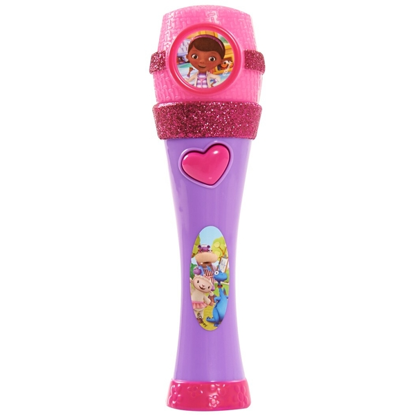 Doc McStuffins Musical Light-Up Microphone