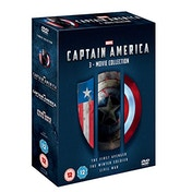 Captain America 1-3 DVD