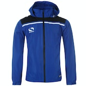 Sondico Precision Rain Jacket Youth 13 (XLB) Royal/Navy