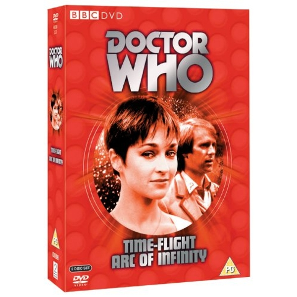Doctor Who - Time-Flight 1982 / Arc of Infinity 1983 DVD