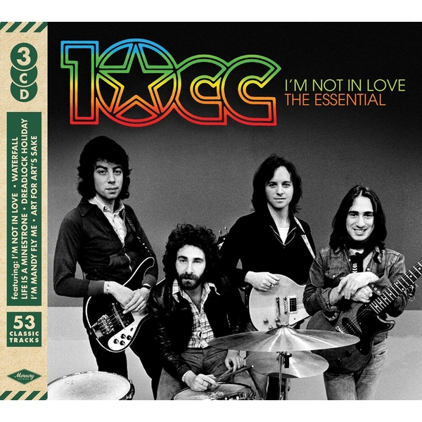 10cc - I'm Not In Love: The Essential CD
