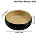 Bamboo Serving Bowl | M&W Small Black - Image 4