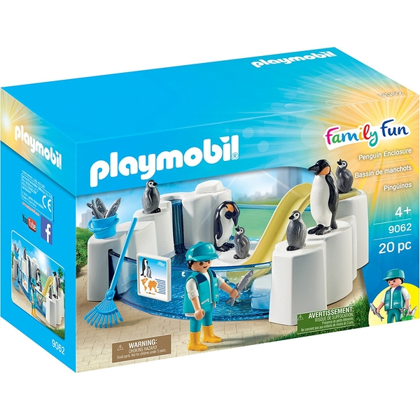 Playmobil Penguin Pool Playset