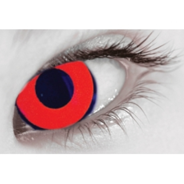UV Vino Red 1 Day Coloured Contact Lenses (MesmerEyez MesmerGlow) - Image 4