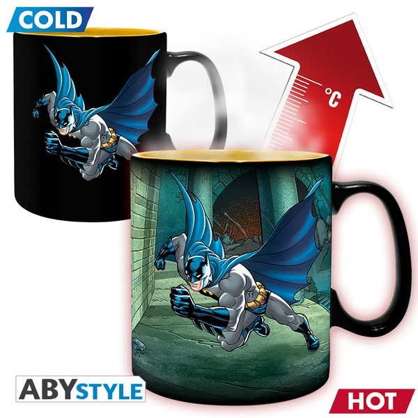 Dc Comics - Heat Change Batman & Joker Mug