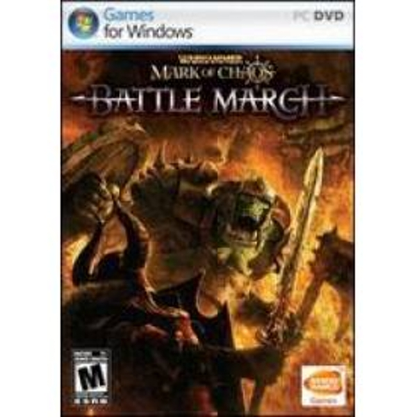 Warhammer Mark Of Chaos Battle March Game PC