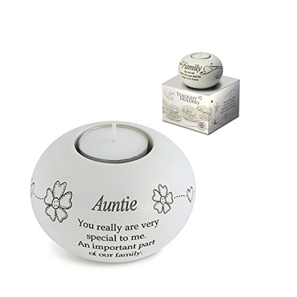 Said with Sentiment Tea Light Holders Auntie