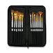 15 Piece Artists Paint Brush Set & Case | Pukkr - Image 3
