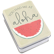 Watermelon Metal Tin