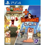 Worms Battlegrounds + Worms WMD PS4 Game