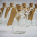 Set of 12 Mini 50ml Glass Bottles | Includes Decorative labels | M&W - Image 9