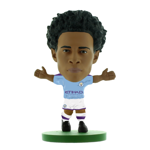 Soccerstarz Leroy Sane Man City Home Kit 2020 Figure