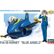 Egg Plane FA-18 Hornet Blue Angles Model Kit