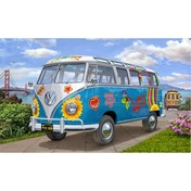 VW T1 Samba Bus Flower Power 1:24 Scale Level 5 Revell Model Kit
