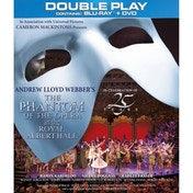 The Phantom of the Opera at The Royal Albert Hall Double Play Blu-Ray and DVD