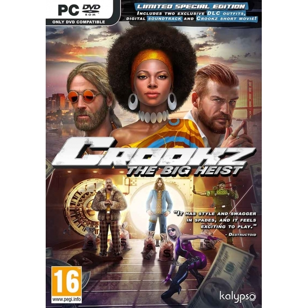 Crookz The Big Heist Limited Special Edition PC Game