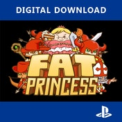 Fat Princess PS3 PSN Digital Download Game