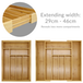 Bamboo Extending Cutlery Drawer Tray | M&W - Image 2