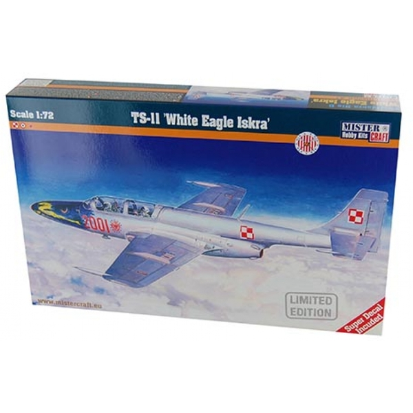 1:72 TS-11 Iskra Bis.D White Eagle Iskra Model Kit
