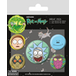 Rick and Morty - Heads Badge Pack - Image 2