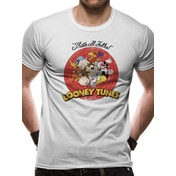 Looney Tunes - Group Vintage Men's Large T-Shirt - White