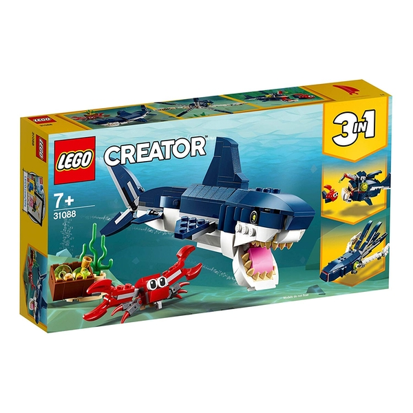 LEGO Creator 3 in 1 - Deep Sea Creatures (31088) [Damaged Packaging]
