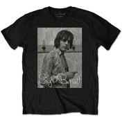 Syd Barrett - Smoking Men's X-Large T-Shirt - Black