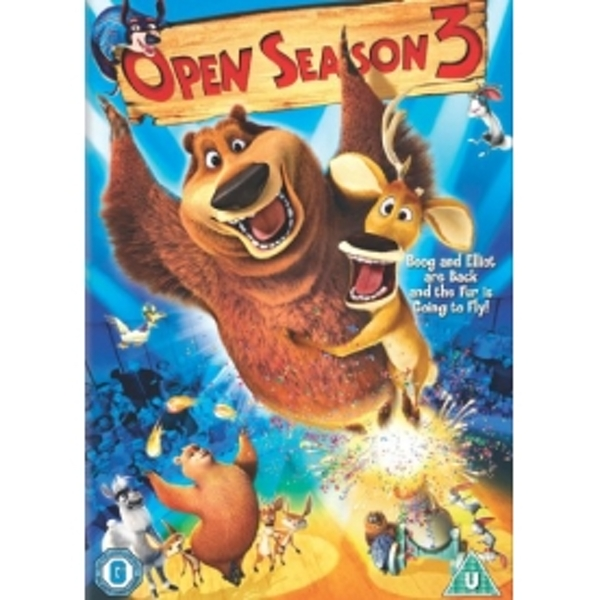 Open Season 3 DVD