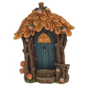 Autumn Cottage Fairy Ornament
