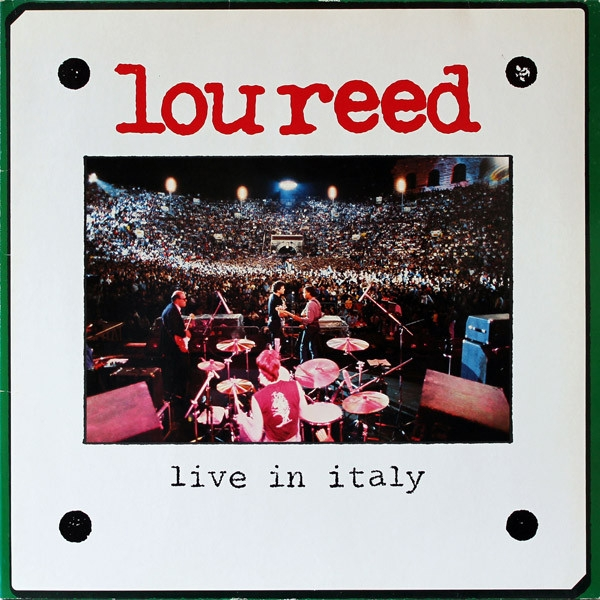 Lou Reed - Live In Italy Vinyl