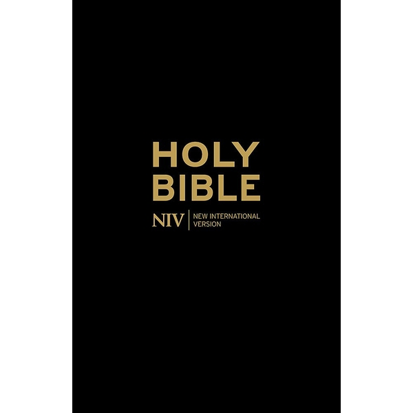 Holy Bible - NIV Anglicised Black Gift and Award by New International Version (Paperback, 2011)