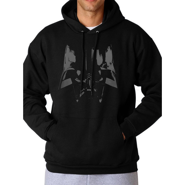 Star Wars - Vader Close Up Men's Small Hoodie - Black