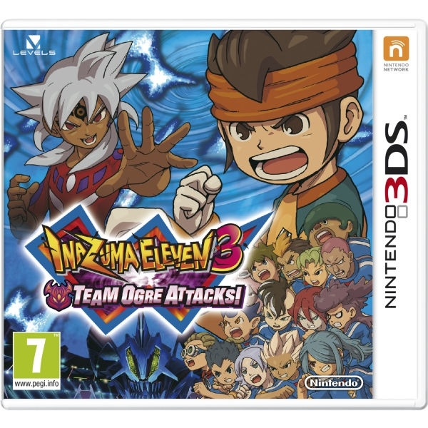 Inazuma Eleven 3 Team Ogre Attacks Game 3DS