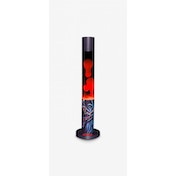 Darth Vader Star Wars Printed Lava Lamp Black with Red Lava (UK Plug)