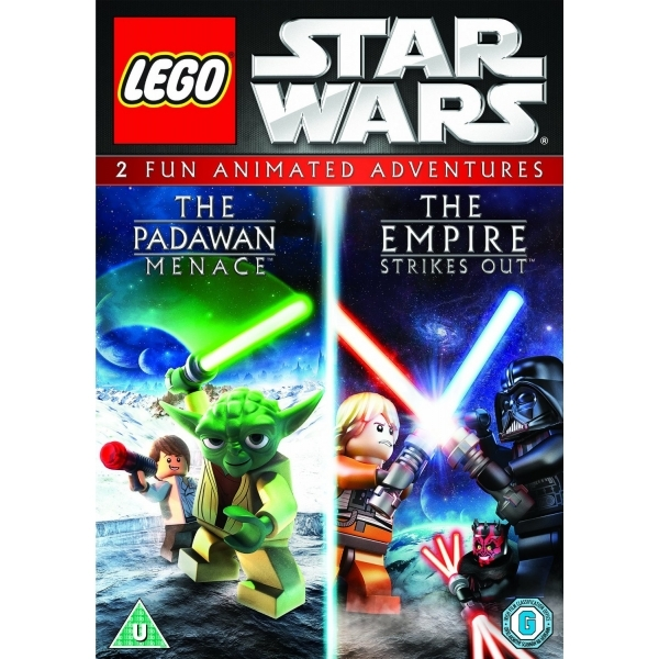 LEGO Star Wars The Padawan Menace / The Empire Strikes Out Double Pack DVD