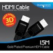 Blue Ocean 1.5m HDMI Cable PS3 & Xbox 360