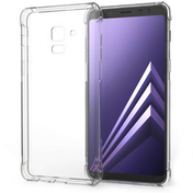 Caseflex Samsung Galaxy A8 Plus (2018) Alpha TPU Gel Case - Clear