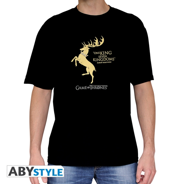 Game Of Thrones - Baratheon* Men's X-Large T-Shirt - Black