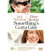 Something's Gotta Give DVD