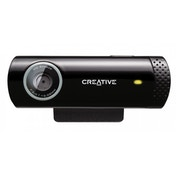 Creative Labs Live! Cam Chat HD 1280 x 720 pixels USB 2.0 Black webcam
