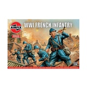 WWI French Infantry 1:76 Air Fix Figures
