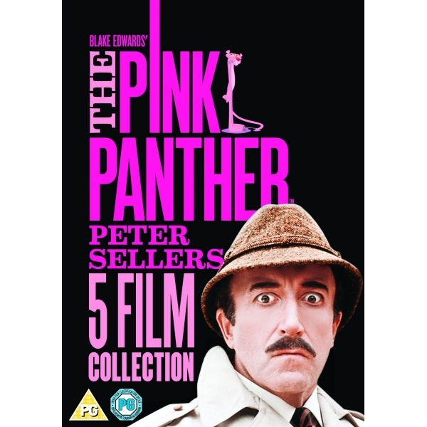 The Pink Panther Film Collection 2014 DVD
