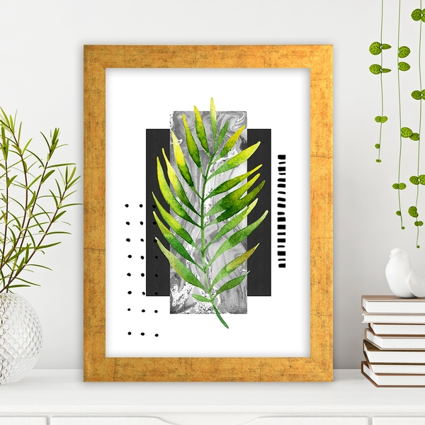 AC1094970425 Multicolor Decorative Framed MDF Painting