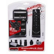 MadCatz Exclusive Pack With Charging Stand HDMI Cable & Remote PS3